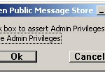 Use admin privileges
