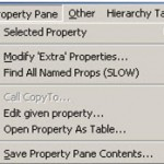 Modify Extra Properties