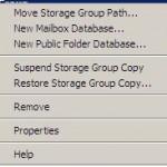 Suspend Storage Group Copy